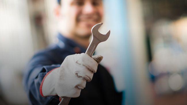mantenimiento de equipamiento industrial